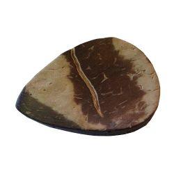 Médiator(s) en noix de coco, la pièce