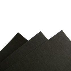 Fibre noire pour PDT 145 x 200 mm, ép 0,8 mm, pour archet de contrebasse