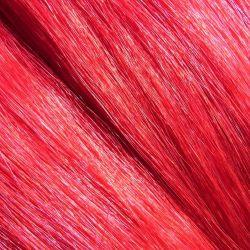 Crin teinté rouge 78 cm, la botte de 480 gr