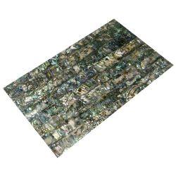 Plaque de nacre verte abalone reconstituée 240 x 140 x 0,4 mm