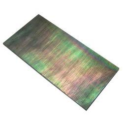 Plaque(s) de nacre noire 21 x 11 x 2 mm , la pièce