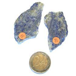 Lapis Lazuli, épaisseur 2,5 et 3,5mm