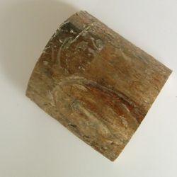 Bloc en ivoire de mammouth, ~95x85x11mm, ~260g