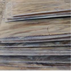Lot 18 plaques de galalithe ancienne 400x500x3/4 mm,  façon corne, le lot 3,6 m2 env
