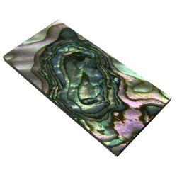 Plaque(s) de nacre verte abalone 40 x 20 x 2 mm, la pièce