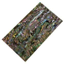 Plaque(s) de nacre verte abalone reconstituée 120 x 70 x 2 mm, la pièce