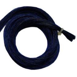 Mèche crin couleur bleue 79cm, 8g