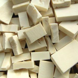 Chutes de carrés en os (~20 pièces), 300g
