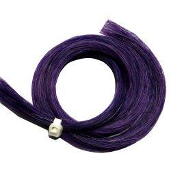 Mèche crin couleur violette 79cm, 8g
