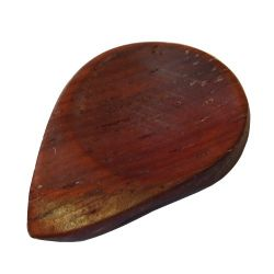 Médiator(s) en bois exotique, la pièce