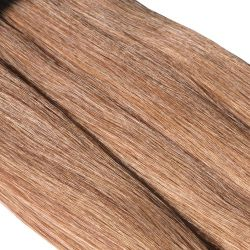 Crin bronze marron clair longueur 80 cm, la botte de 480 gr