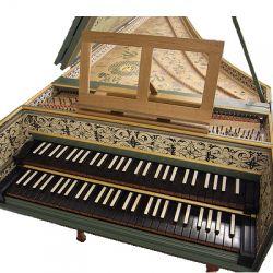 harpsichord, organ, piano forte
