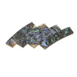 Rosace abalone coeur véritable,diam 120 mm larg 5 mm, ép 1,5 mm