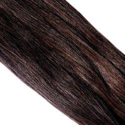 Crin brun longueur 78 cm, la botte de 480 gr