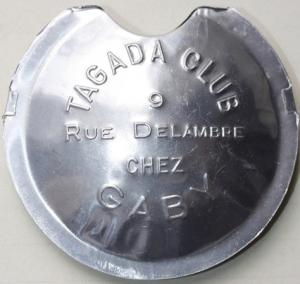 TAGADA instrument à vent, fabrication Delaruelle dans les années 60/70