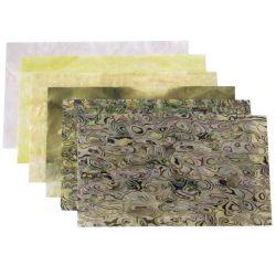 plaques de nacre reconstituée 240 x 140 mm