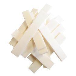Touche(s) en os de bovin 80 x 13 x 3 mm, la pièce