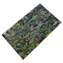 Plaque(s) de nacre bleue en Paua reconstituée 120 x 70 x 2 mm, la pièce