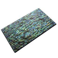 Plaque(s) de nacre bleue en Paua reconstituée 240 x 140 x 4 mm, la pièce