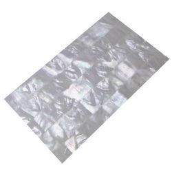 Plaque de nacre blanche reconstituée 240 x140 x 0,4 mm