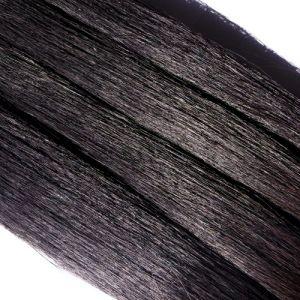 Crin noir longueur 79 cm, la botte de 480 gr